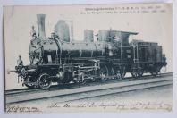 Carte postale ancienne S.B.B. Locomotive à marchandises Suisse