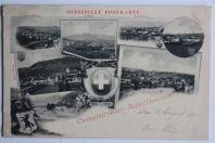 Carte postale ancienne Centenarfeier Schaffhaussen Suisse