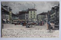 Carte postale ancienne Winterthur Neumarkt Suisse