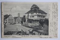 Carte postale ancienne Frauenfeld Schloss Thurgovie Suisse