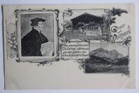 Carte postale ancienne Gruss aus Wildhaus Suisse