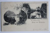 Carte postale ancienne Gruss aus Winterthur Suisse