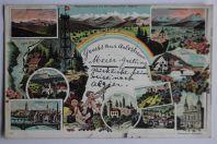 Carte postale ancienne Gruss aus Arlesheim Suisse