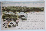 Carte postale ancienne Gruss von der Hundwiler Höhe Suisse