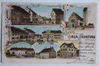 Carte postale ancienne Gruss aus Ober Neunforn Suisse
