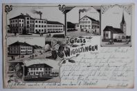 Carte postale ancienne Gruss aus Wigoltingen Suisse