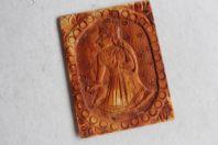 Ancienne Carte à jouer indienne ivoire