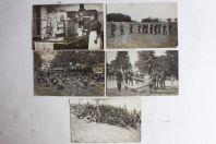 Anciennes cartes photos École de recrue infanterie Lausanne