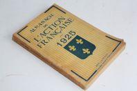 Livre Almanach de l'Action Française 1925