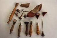 Anciens outils Cordonnier Bourrelier