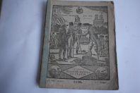 Almanach 1836 Le grand messager boiteux de France