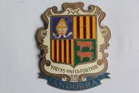 Insigne automobile émaillée Andorre Espagne Andorra