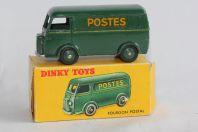 DINKY TOYS 25B Fourgon postal Peugeot D.3.A.