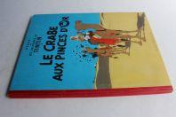 BD TINTIN Le crabe aux pinces d'or B22 1957