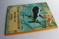 BD TINTIN Le trésor de Rackham le Rouge B26 1958/59