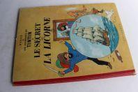 BD TINTIN Le secret de la licorne B15 1955