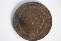 Monnaie 10 Centimes Cérès 1871 A