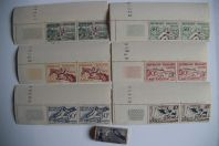Timbres France sport 1938-1953 neufs Jeux Olympiques Football