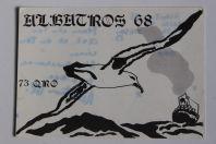 Carte postale QSL Radio Amateur Suisse Albatros 68