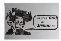 Carte postale QSL Radio Amateur Suisse Spirou 68