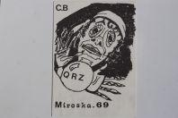 Carte postale QSL Radio Amateur Suisse Miroska 69