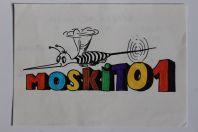 Carte postale QSL Radio Amateur Suisse Moskito 1