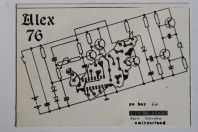 Carte postale QSL Radio Amateur Suisse Alex 76