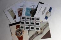 BREITLING Photographies Montres + Diapositives + Fiches techniques