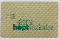 Télécarte à puce Demo Ddm Hopt + Schuler Allemagne