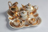 Dînette Service à thé de poupée porcelaine Vieux Paris
