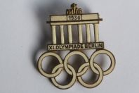 Broche Pin's Jeux Olympiques XI Olympiade Berlin 1936