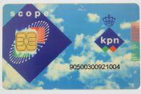 Télécarte à puce Scope KPN Pays-Bas
