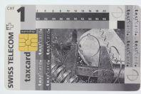 Télécarte à puce Test card 1 CHF Swiss Telecom Suisse 1995