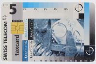 Télécarte à puce Test card 5 CHF Swiss Telecom Suisse 1995
