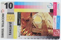 Télécarte à puce Test card 10 CHF Swiss Telecom Suisse 1995