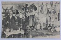 CPA Chimiste Eugène Turpin Laboratoire Guerre 1914 mélinite explosif