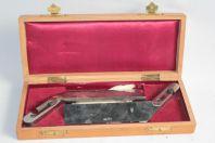 Coffret Lames de couteaux Instrument de chirurgie Wilhelm Walb