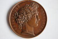 Médaille République française Société d'agriculture de l'Ain