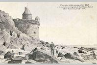 CPA AVEUGLES MILITARIA - Famille Rameau Olivier N°70 - Soldat Julien Alix - Mont Saint Michel