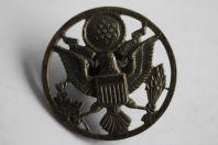 Insigne de casquette militaire US Army E Pluribus Unum Eagle Aigle