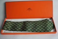 Cravate soie HERMES 627 TA