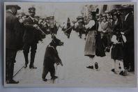 CPA Montreur d'ours Bärndütsch Fest 1924 Berne Suisse