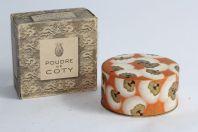Poudre de COTY parfumée à l'origan Boite à poudre Lalique
