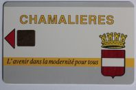 Carte à puce Stationnement Parking Chamalières Puy-de-Dôme France