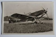 Carte postale ancienne Avion Messerschmitt Me 109 Suisse