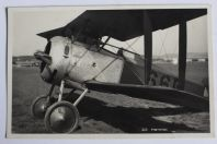 Carte postale ancienne Avion Hanriot Suisse
