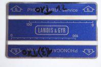Télécarte de service Phonocard 6 Landis & Gyr 511L Brunéi Darussalam