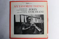 Vinyle 33T John Coltrane My favourite things Atlantic 332037 1965