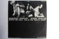 """Vinyle 33T Kessler Phillips Mc Call live """"Gill's Club"""" Stereo GER 10"""