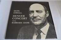 Vinyle 33T Jazz Don Ewell, Barbara Dane – Denver Concert
